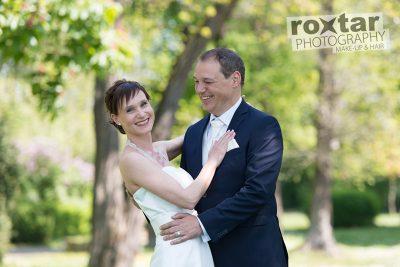 Hochzeit Brautpaar Shooting - Outdoor Park Grünstadt © roxtar