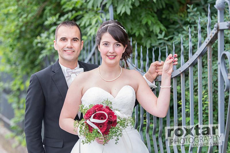Hochzeit Brautpaar Shooting - Outdoor Grünstadt © roxtar