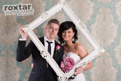 Hochzeit Brautpaar Shooting - Fotostudio Grünstadt © roxtar