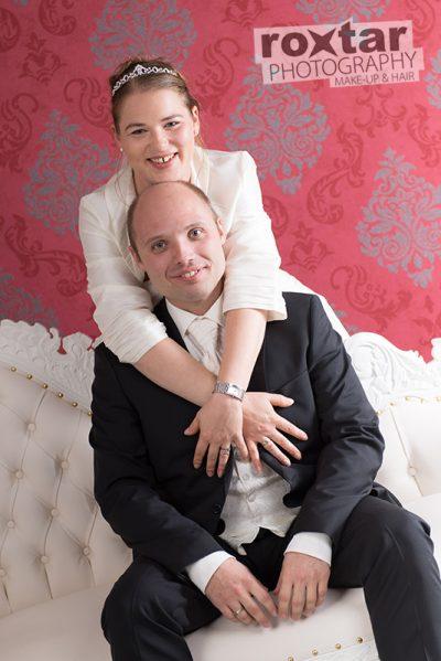 After Wedding Brautpaar Shooting - Fotostudio Grünstadt © roxtar