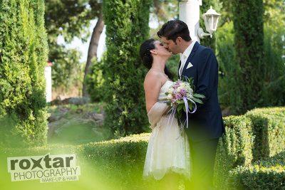 Hochzeit Brautpaar Shooting - Outdoor Großkarlbach © roxtar