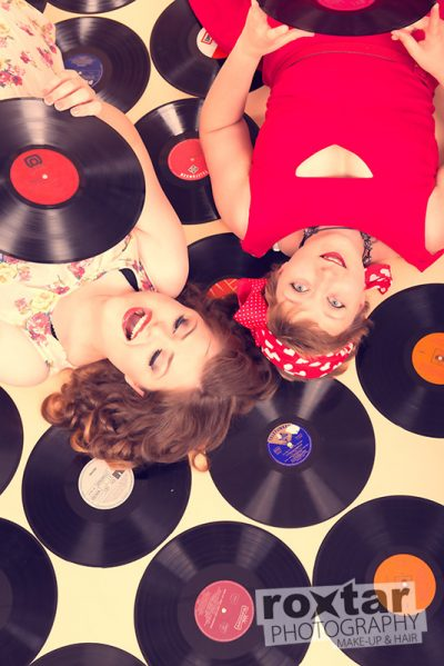 Pinup Shooting - Music Friends © roxtar