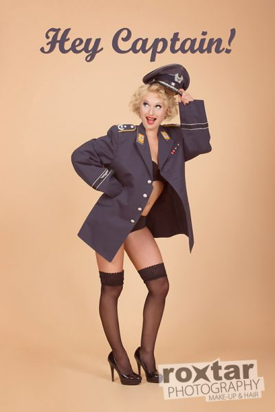 Pinup Shooting Captain`s Girlfriend © roxtar