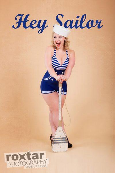 Pinup Shooting - Hey Sailor © roxtar