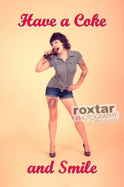 Pinup Shooting - Coke Girl © roxtar