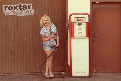 Pinup Shooting - Station Girl © roxtar
