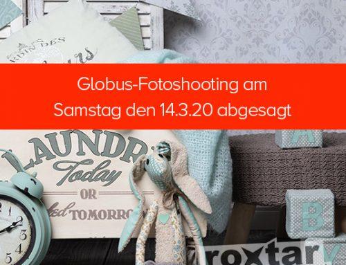 Globus-Fotoshooting am Samstag abgesagt